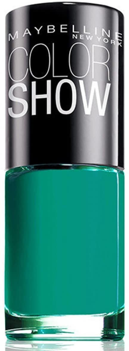 Maybelline Color Show Nail Polish Urban Turquoise 120, Blue Nail Varnish, Turquoise