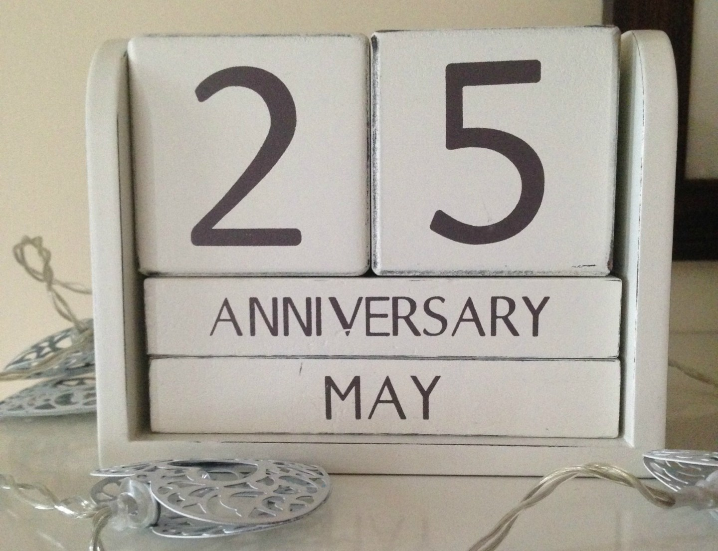 Counting blessings on a wedding anniversary