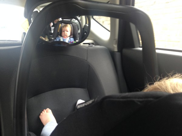 Snugglybabies Baby Rear View Car Mirror 3
