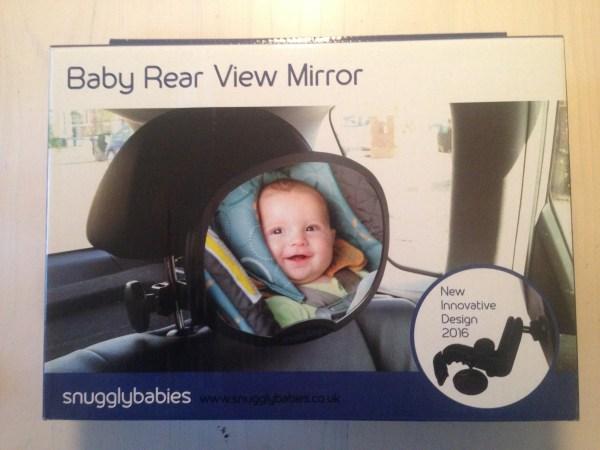 Snugglybabies Baby Rear View Car Mirror