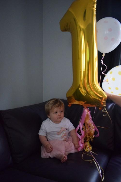 1st birthday baby