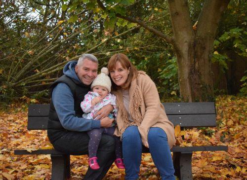 Family of three photo