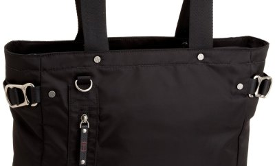 Tumi totes can be great for holding all your travel accessories!
