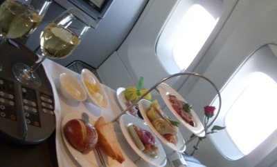 using airline miles for amazing first class trips