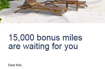 15000 Bonus Miles for US Airways Mastercard Spend