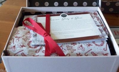 December Glossybox packaging