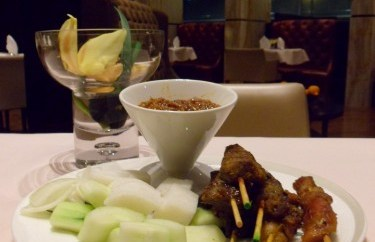 Singapore Air Private Room Satay