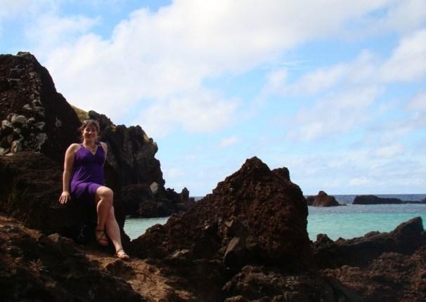 Ovaje Beach Easter Island Teva Zirra