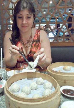 Din Tai Fung Bangkok juicy pork dumplings
