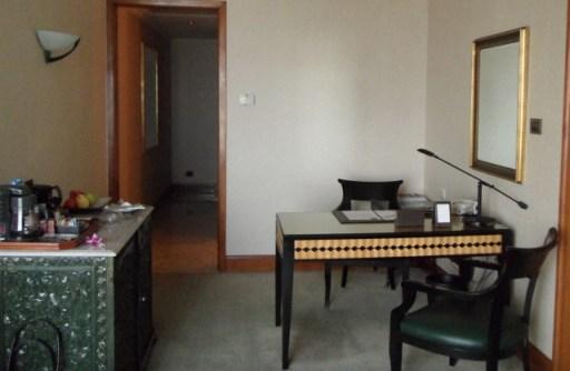 Sheraton Grande Sukhumvit writing area