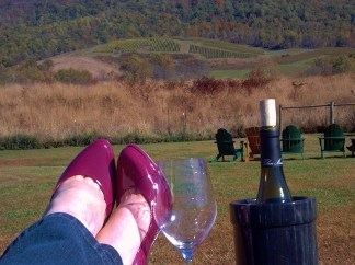 Heels First at Glen Manor Vineyard