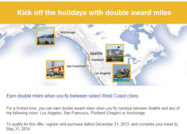 United Seattle Double Miles Promo
