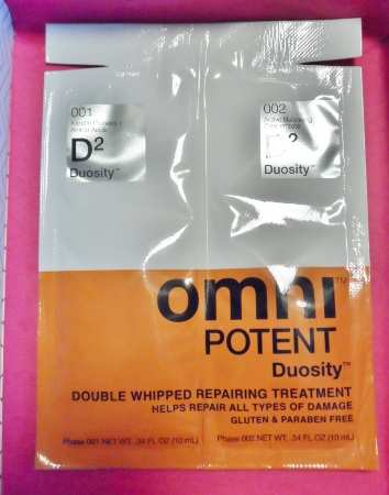 January 2014 Birchbox OmniPotent Duosity Hair Treatment