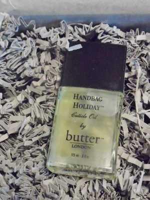 January 2014 Sample Society Butter London Cuticle Oil