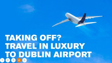 Aircoach Ireland advertising