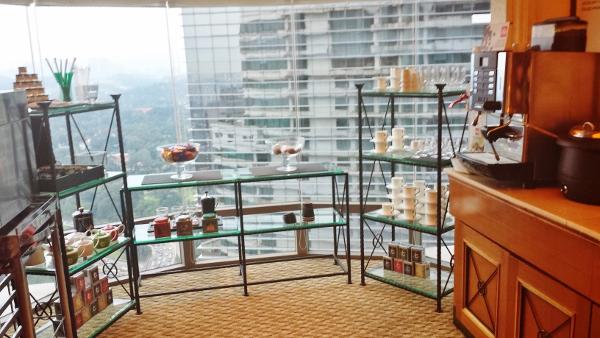 Le Meridien Kuala Lumpur Club Lounge Beverages