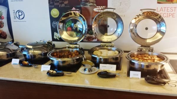 Le Meridien Kuala Lumpur Club Lounge Hot food
