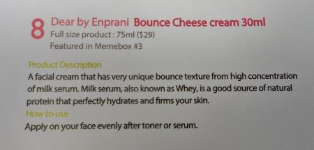 Luckybox #5 Bounce Cheese Description