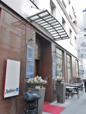 Radisson Blu Style Vienna Austria Exterior