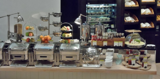 The Morrison DoubleTree Hotel Dublin Halo Breakfast Buffet Hot options