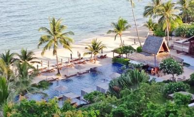 Intercontinental Koh Samui Resort Oceanfront pool
