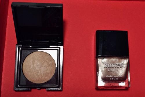 July 2014 Sample Society butter london laura mercier