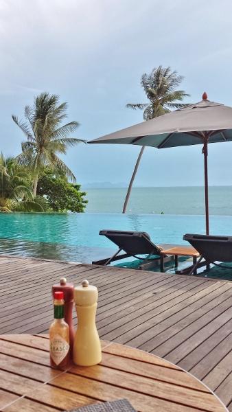Conrad Koh Samui Azure Grill view