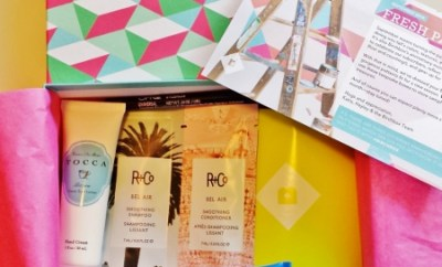 Birchbox September 2014 Contents