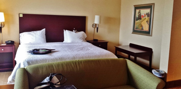 Hampton Inn Staunton Virginia Deluxe room king