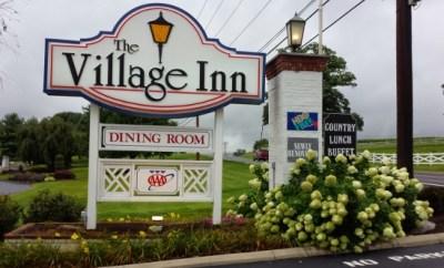 The Village Inn Harrisonburg Sign