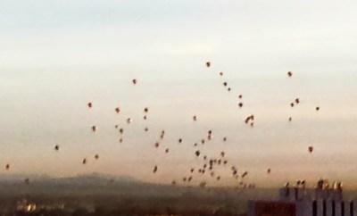 Albuquerque Balloon Fiesta Mass Ascension 2014 Hyatt Regency