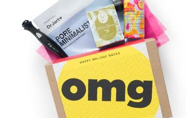 Birchbox Buzzfeed Life Holiday Hacks Box choice