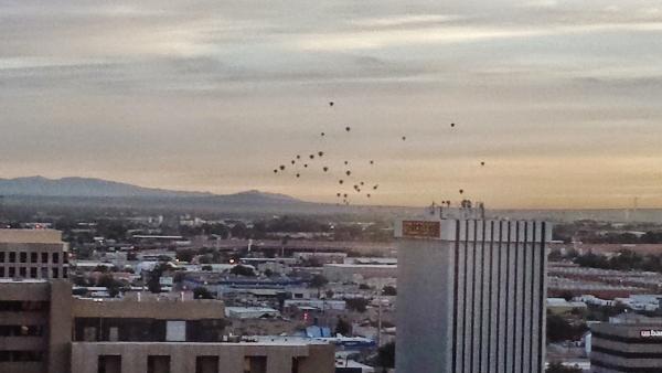 Hyatt Regency Albuquerque Double View Balloon Fiesta Mass Ascension