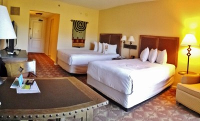 Hyatt Regency Tamaya New Mexico Double mountain vista
