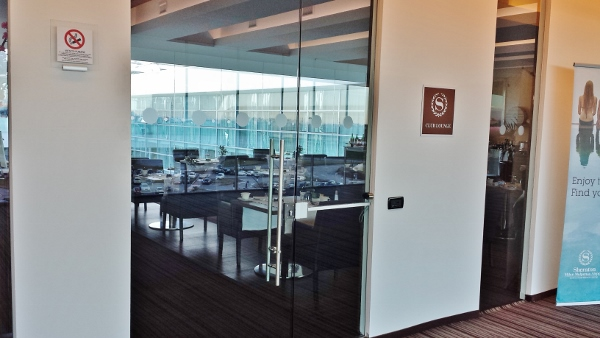 MXP Sheraton Malpensa Club Lounge