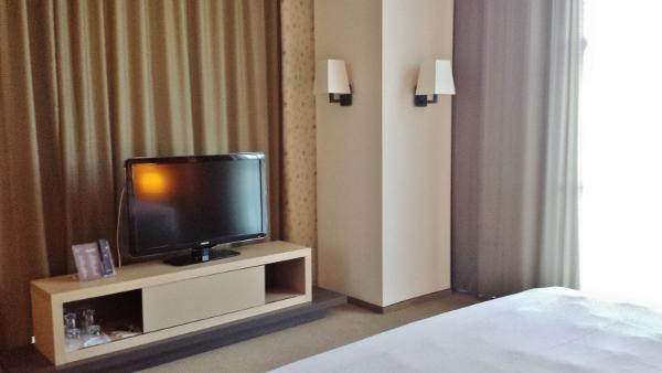 MXP Sheraton Malpensa Diplomatic Suite TV