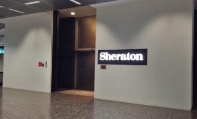 MXP Sheraton Malpensa Entrance