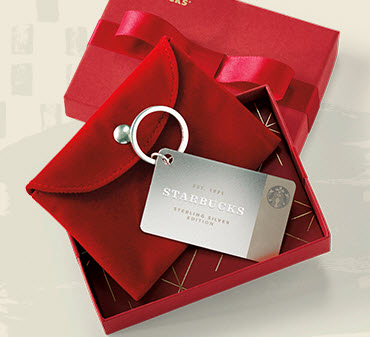 Win A Sterling Silver Starbucks Card And Lots Of Other