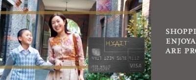 hyatt chase card