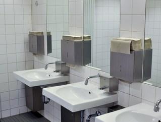 bathroom dryer towels sinks