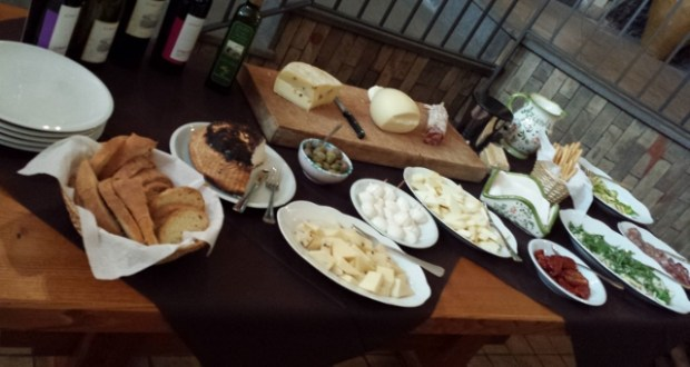 Sicily Wine Tour Tornatore light lunch options