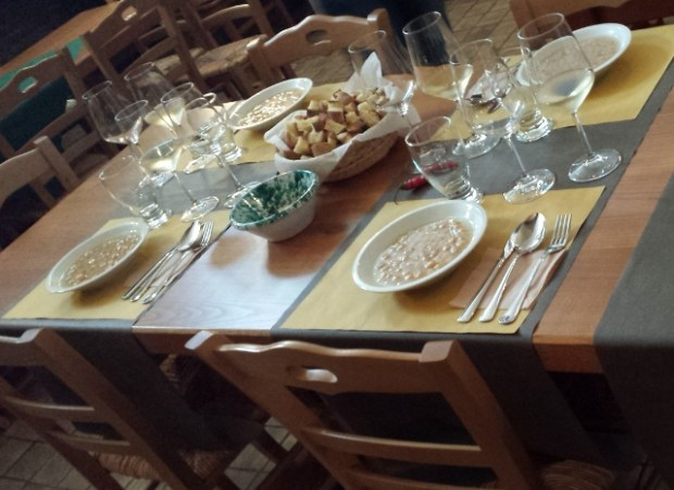 Sicily Wine Tour Tornatore wine tasting lunch chickpeas
