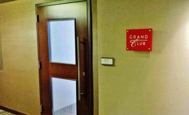 Grand Hyatt Denver Club Lounge