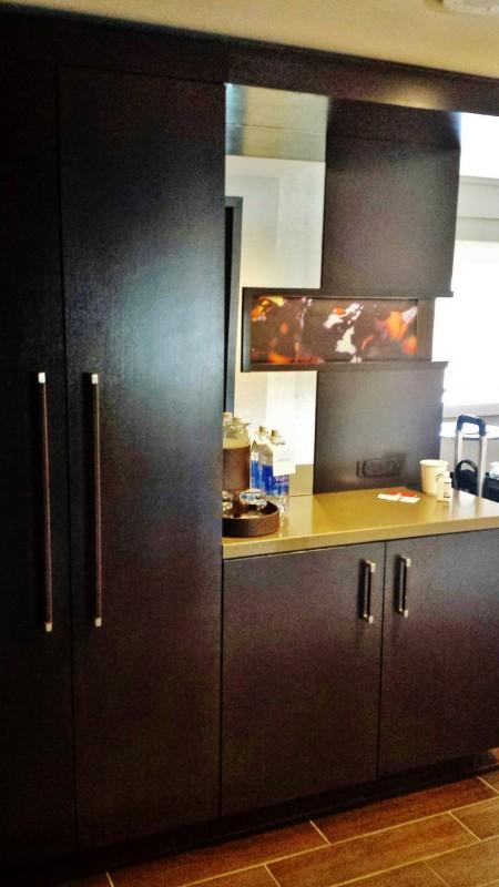 Grand Hyatt Denver Corner Room with a View Closet foyer