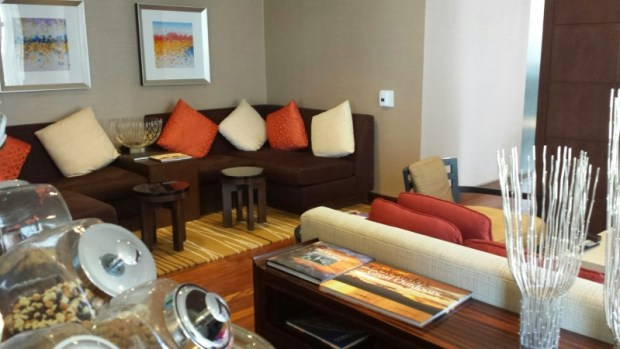 Grand Hyatt Denver Grand Club Couch