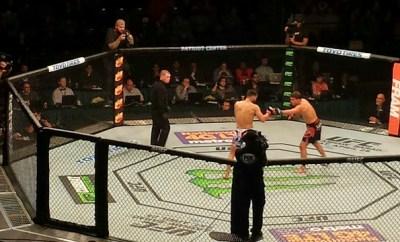 UFC Fight Night Main Event Start