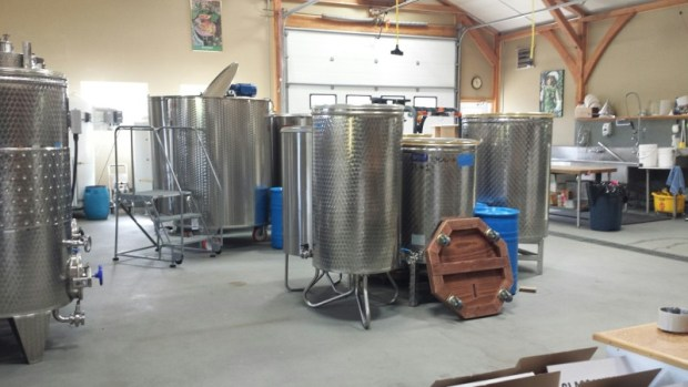 Bear Creek Winery Homer AK Winemaking