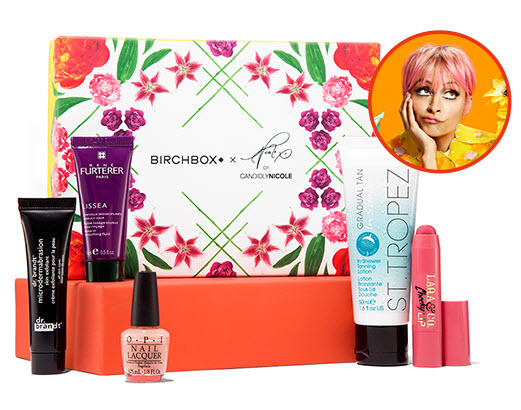 Birchbox candidly nicole guest box august