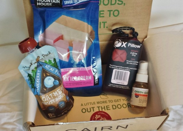 Cairn box review July contents