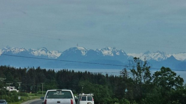 Drive to Home Spit Alaska